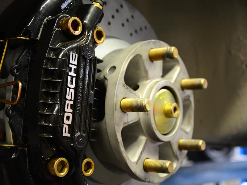 Porsche fék
