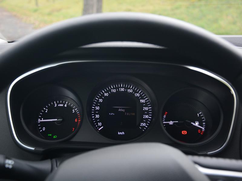 Renault Mégane műszerfal