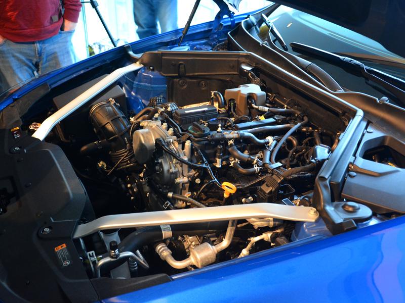 Kia Stinger motor