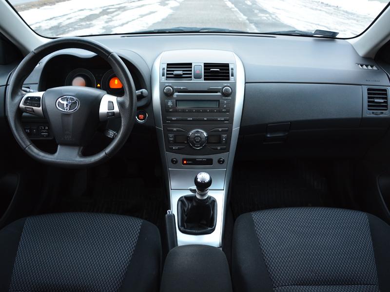 Toyota Corolla belső
