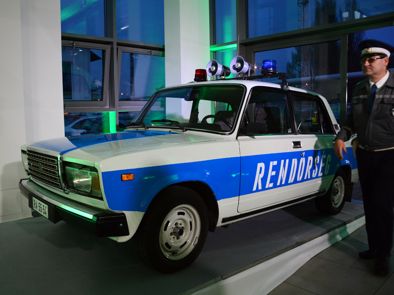 rendőrségi lada