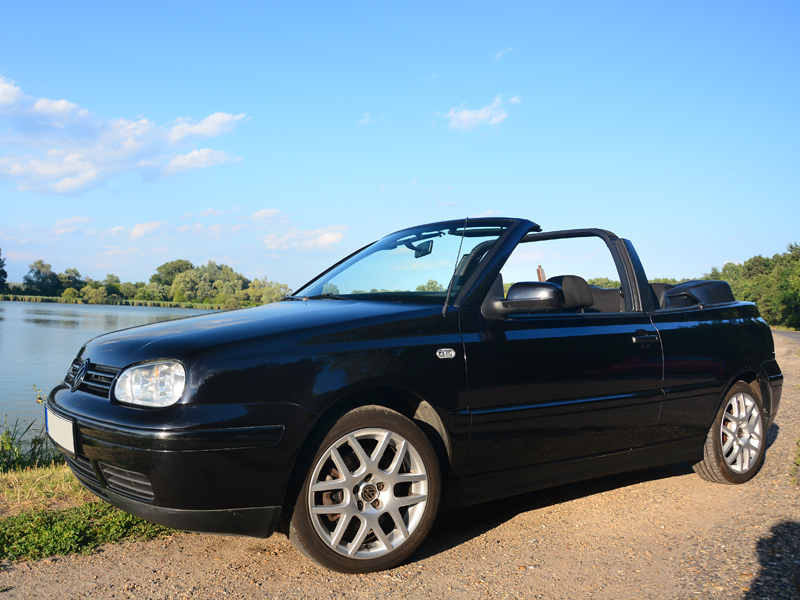 volkswagen golf iv cabrio teszt napf nyes let. Black Bedroom Furniture Sets. Home Design Ideas
