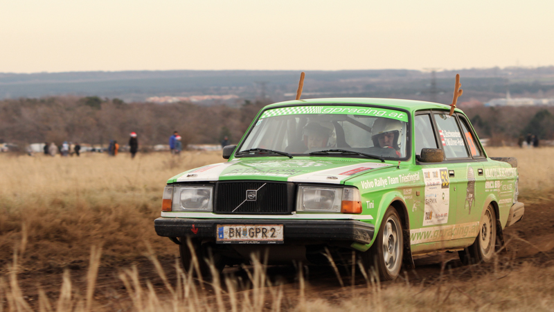 Mikulás Rallye volvo