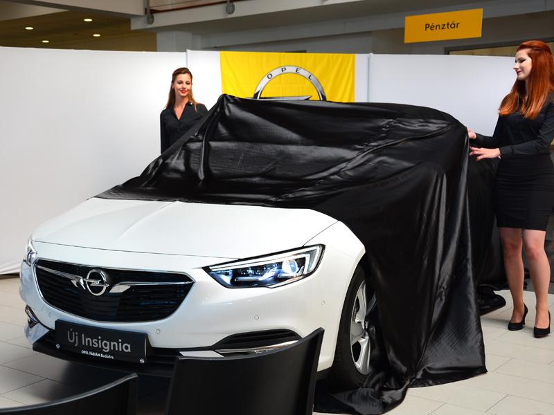 Opel Insignia bemutató