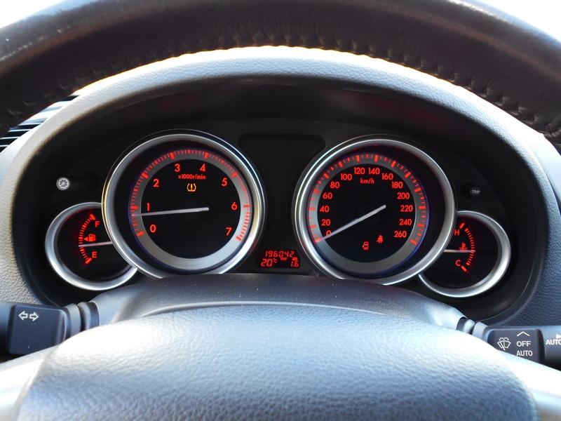 Mazda 6 Sport műszerfal