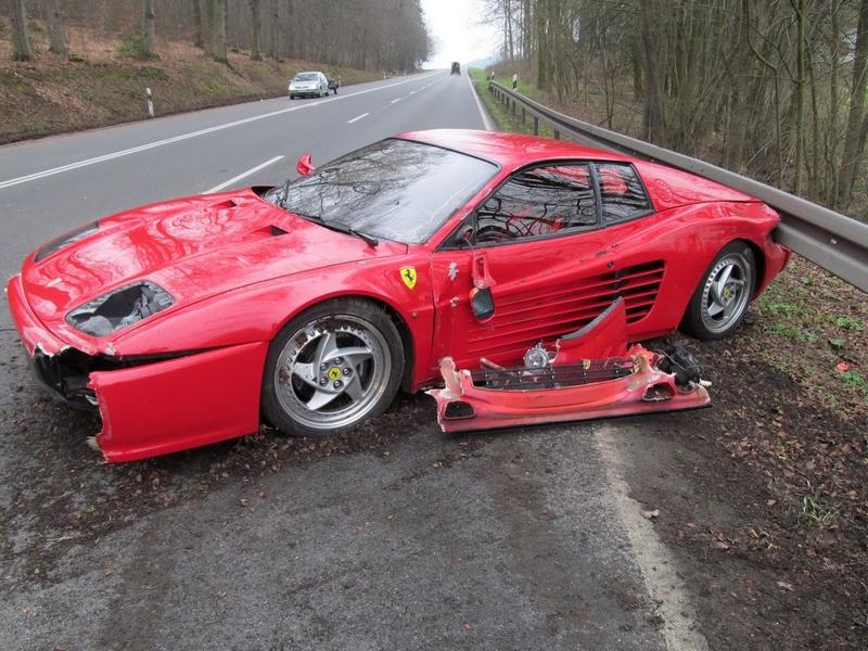 Ferrari-Hedgehog-Crash