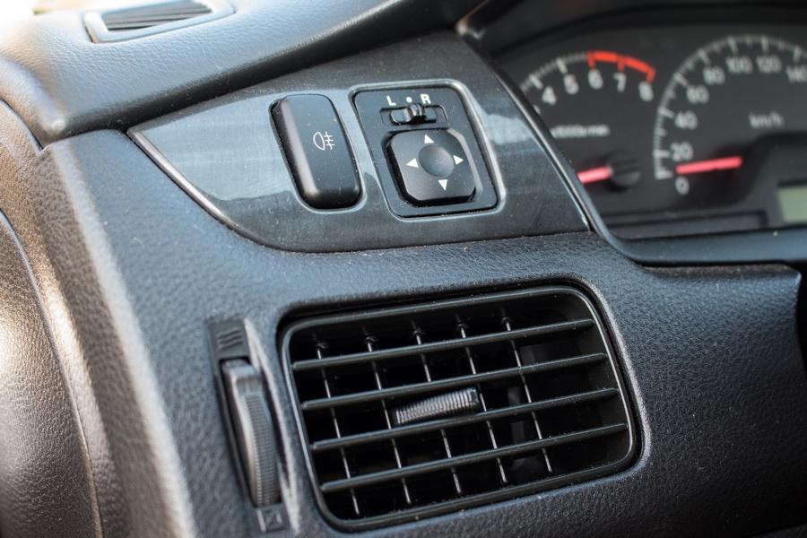 Mitsubishi Lancer belső