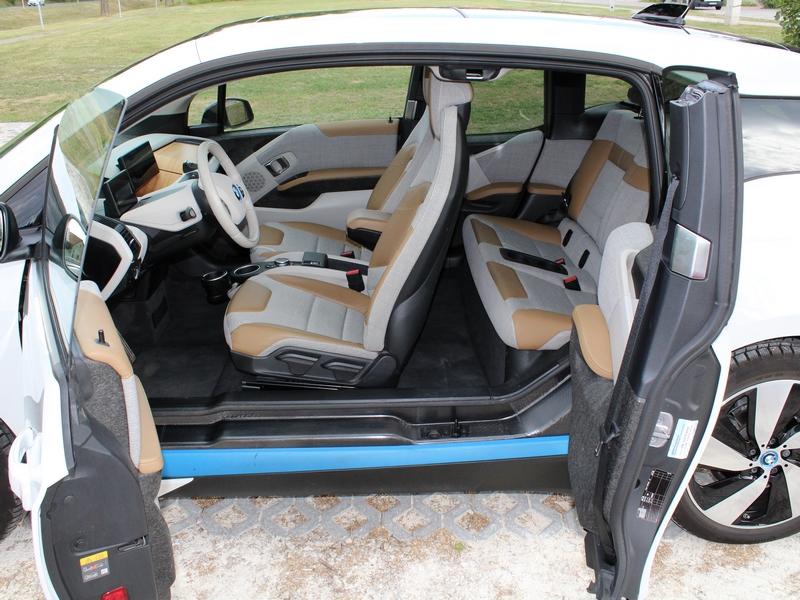 BMW i3 belső