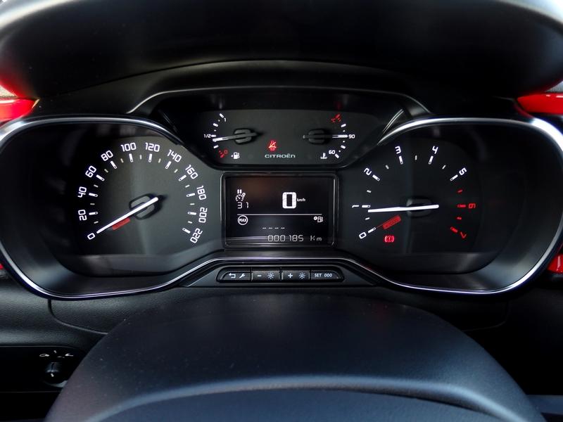 Citroën C3 műszerfal