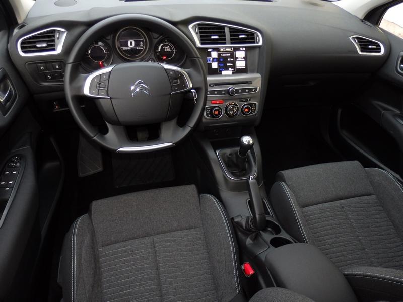 Citroën C4 belső