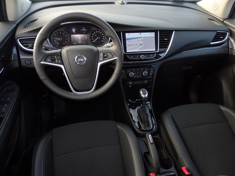 Opel Mokka X belső