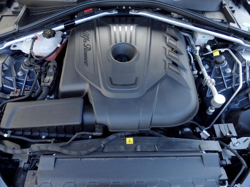 Alfa Romeo Giulia motor