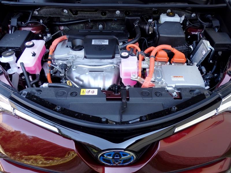 Toyota RAV4 Hybrid motor