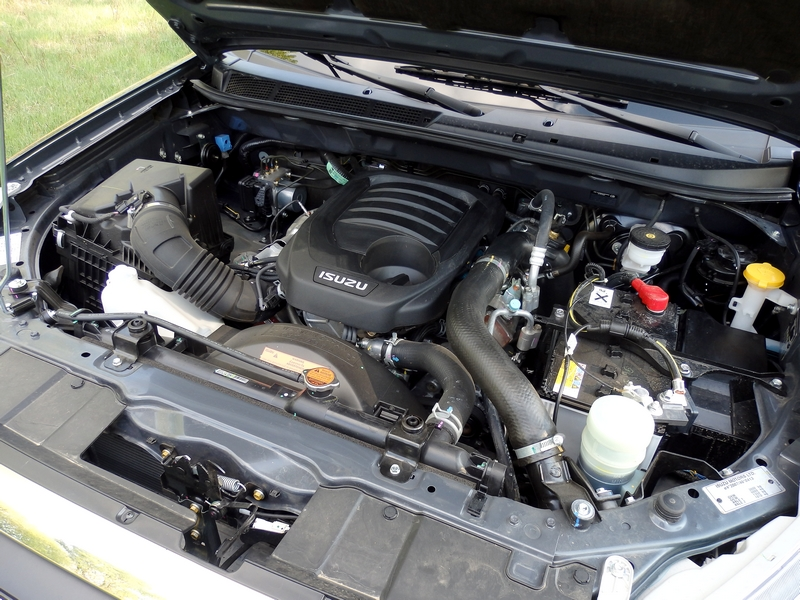 Isuzu D-Max motor