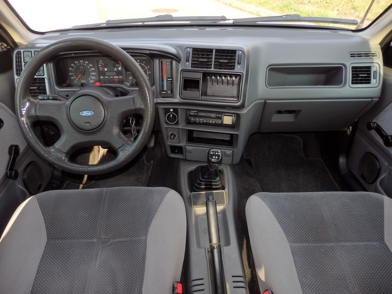 Ford Sierra belső