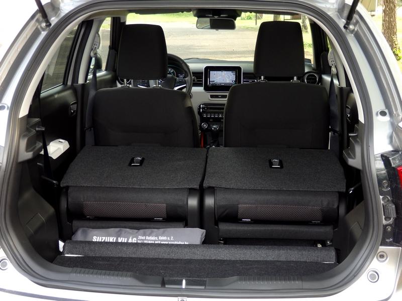 Suzuki Ignis csomagtér