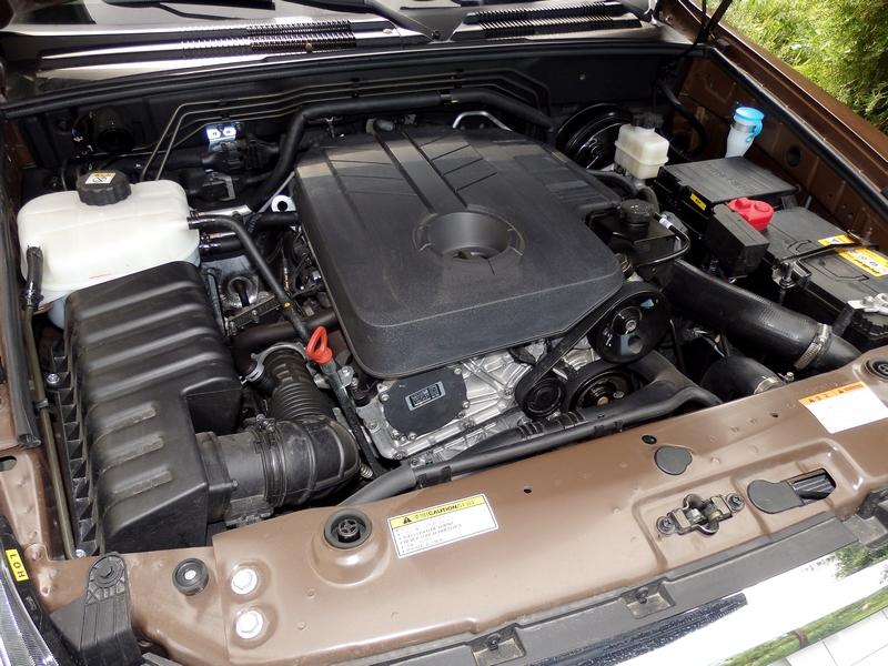Ssangyong Rexton motor