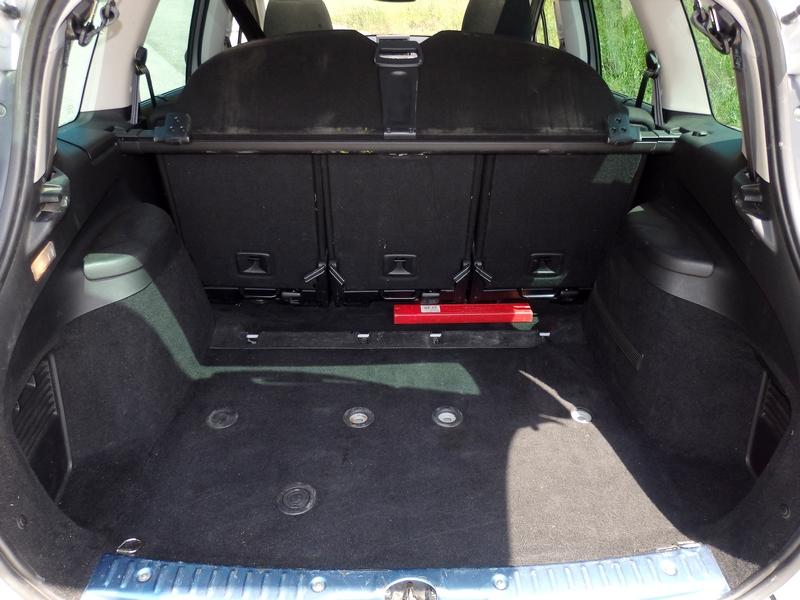 Peugeot 308 csomagtartó