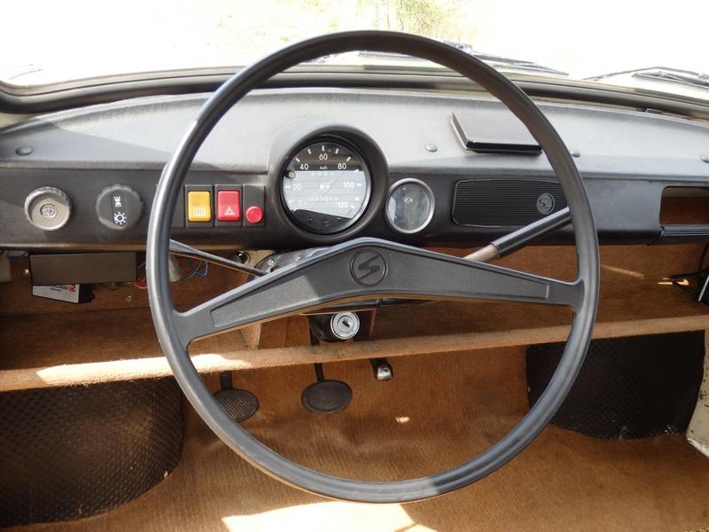Trabant 601 belső