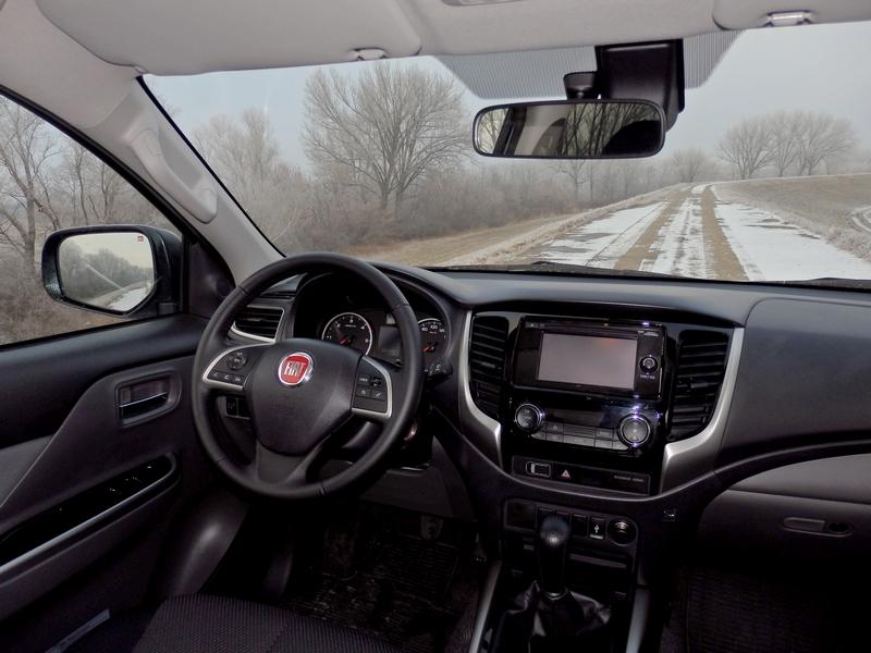 Fiat Fullback belső