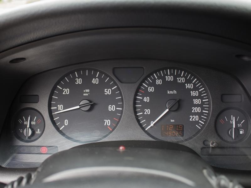 Opel Astra Classic műszerfal