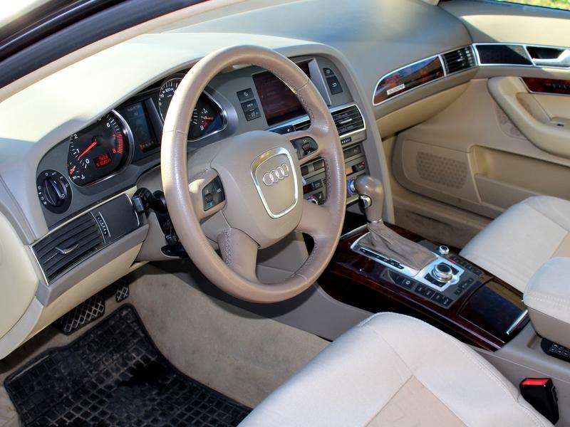 Audi A6 belső