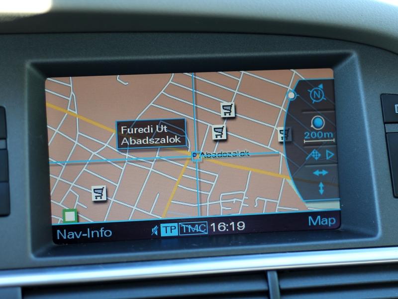 Audi A6 navi