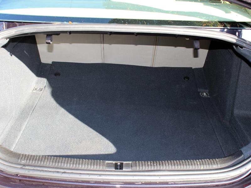 Audi A6 csomagtér