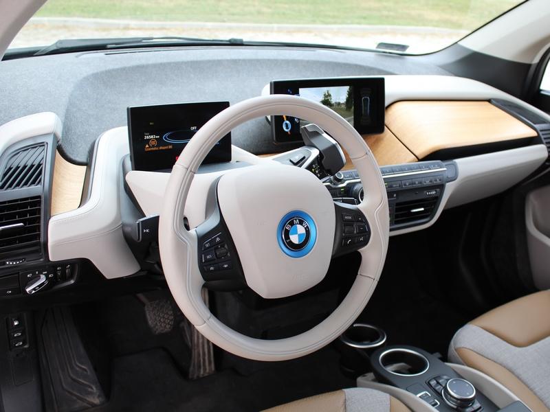 BMW i3 műszerfal