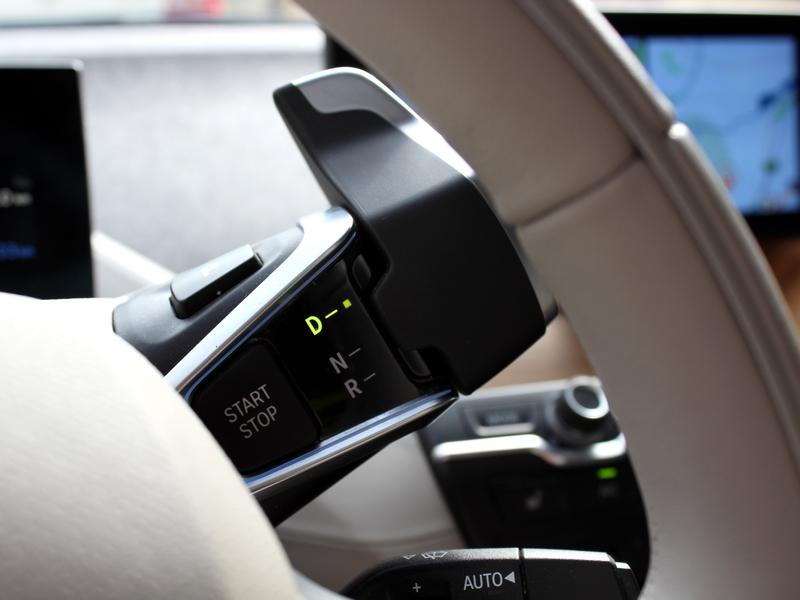 BMW i3 kormány