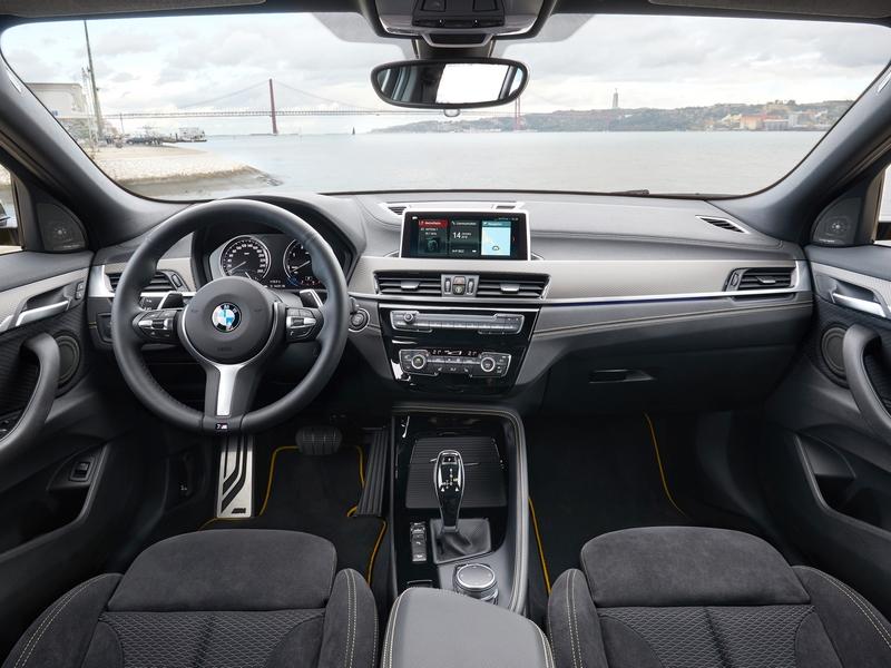 BMW X2 belső