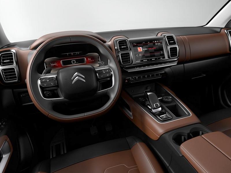 C5 Aircross belső