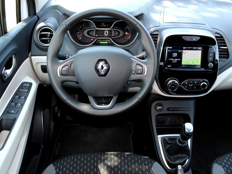 Renault Captur belső