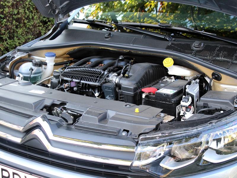 Citroën C-Elysée motor