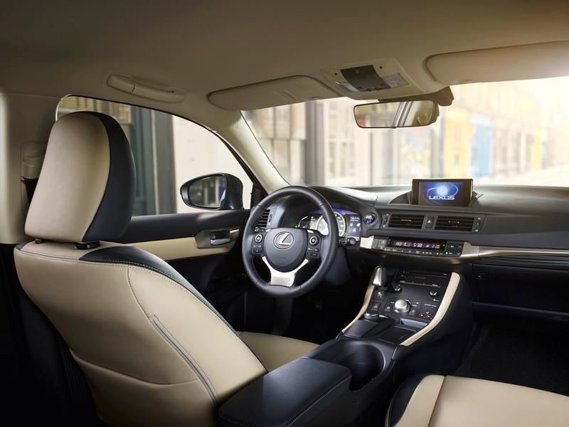 Lexus CT belső