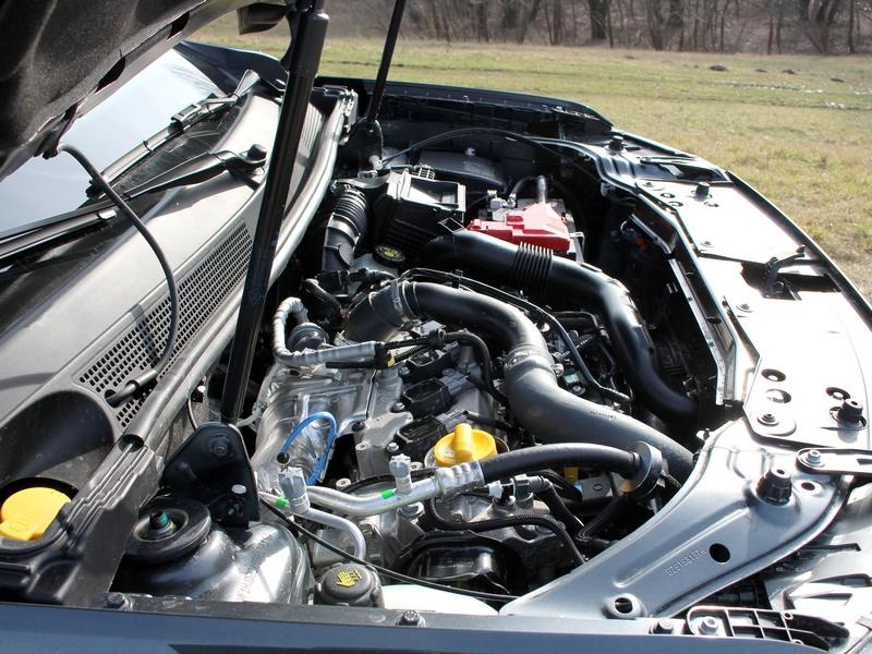 Dacia Duster motortér