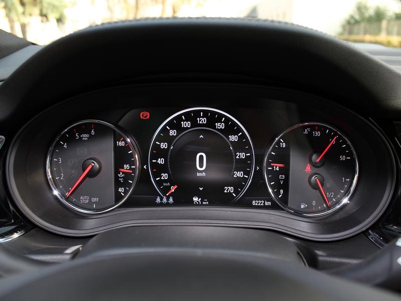 Opel Insignia műszerfal