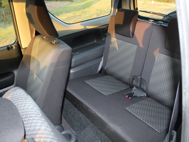 Suzuki Jimny ülések