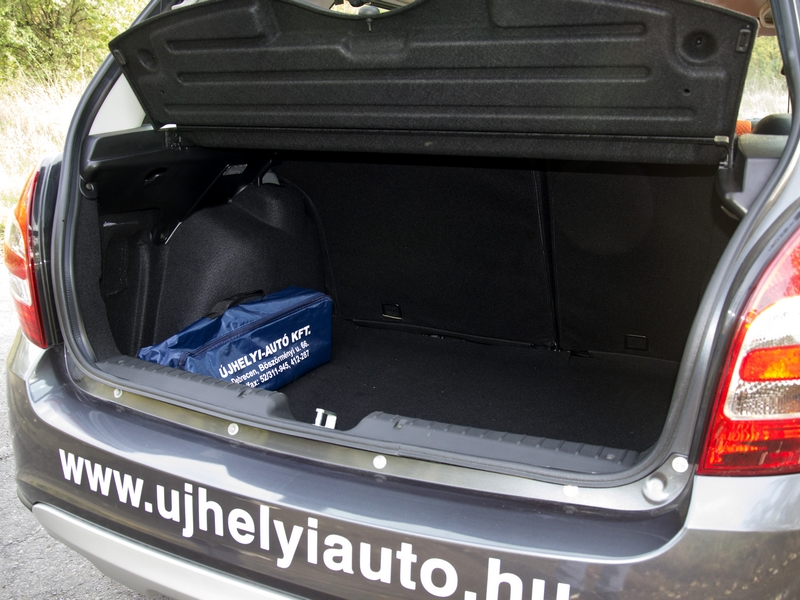 Lada Kalina csomagtér