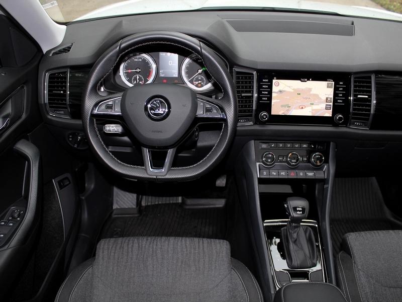 Škoda Kodiaq belső
