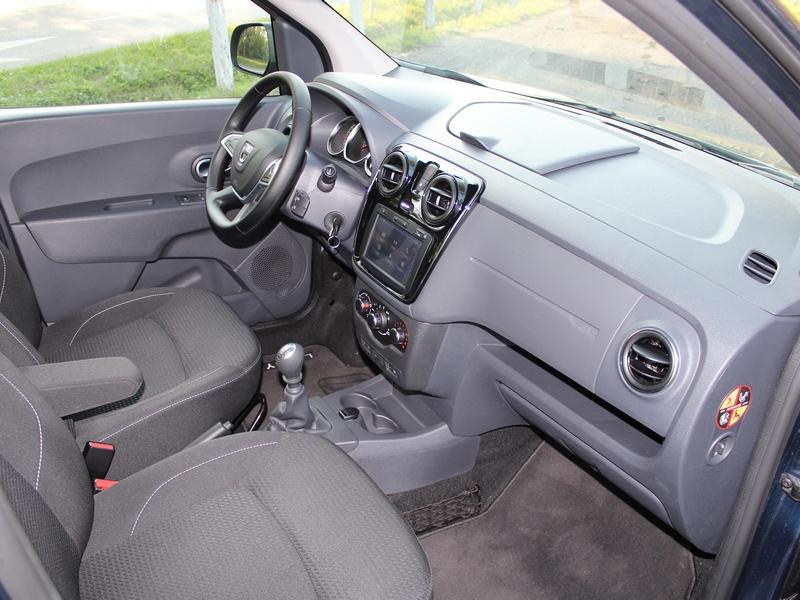 Dacia Lodgy belső