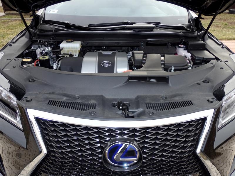 Lexus RX 450h F Sport motor