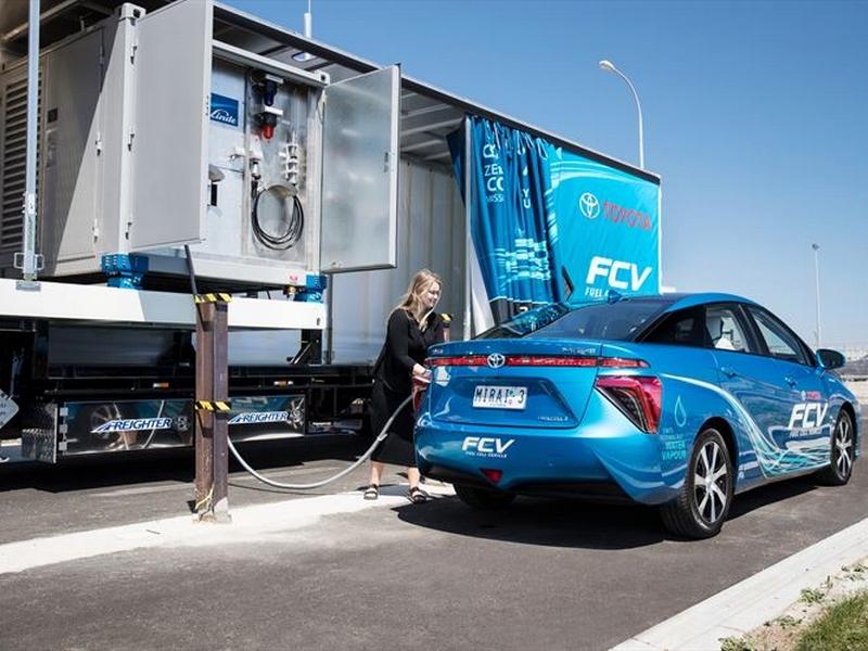 Mobil hidrogéntöltő