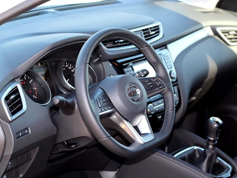 Nissan Qashqai belső