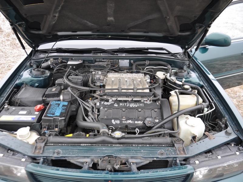 Mitsubishi Sigma motor