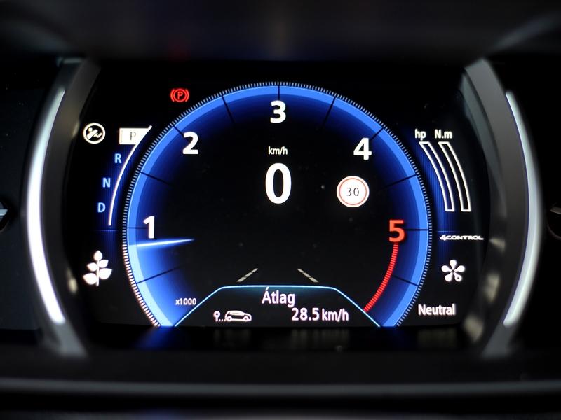 Renault Talisman műszer