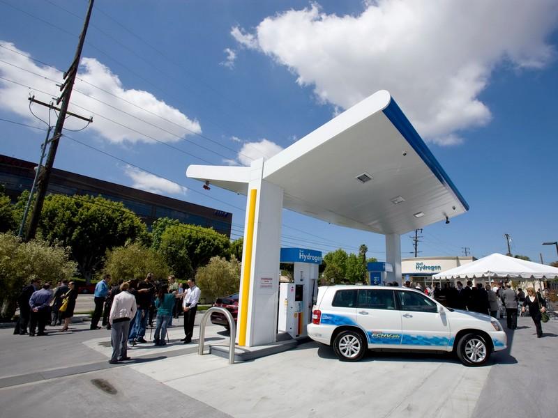 Hidrogén-töltőállomások