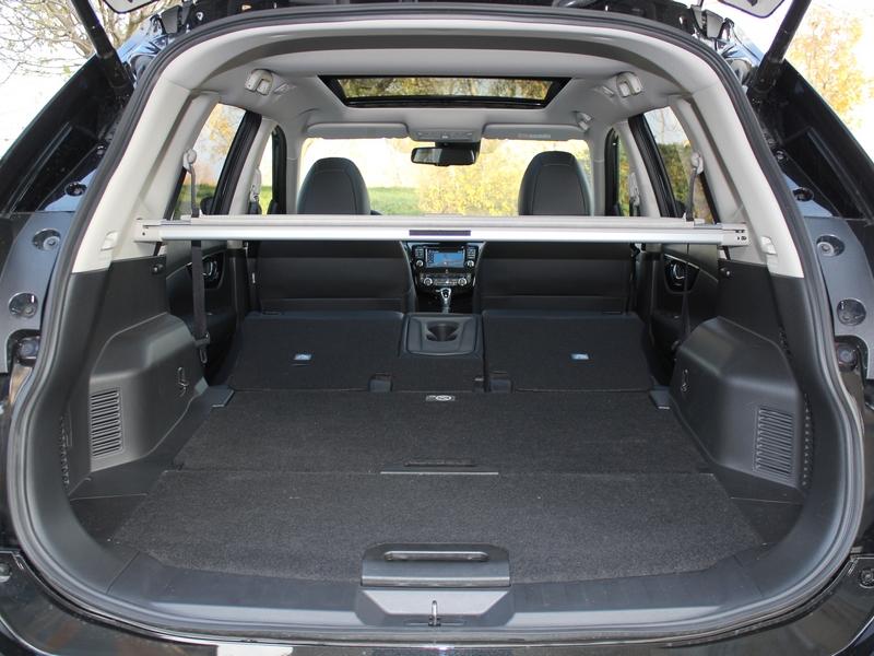 Nissan X-Trail csomagtér