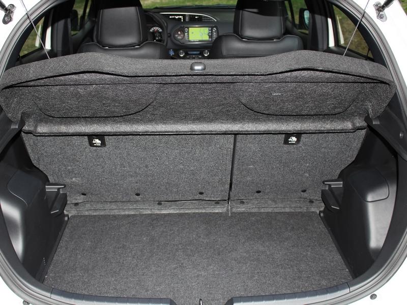 Toyota Yaris Hybrid csomagtér