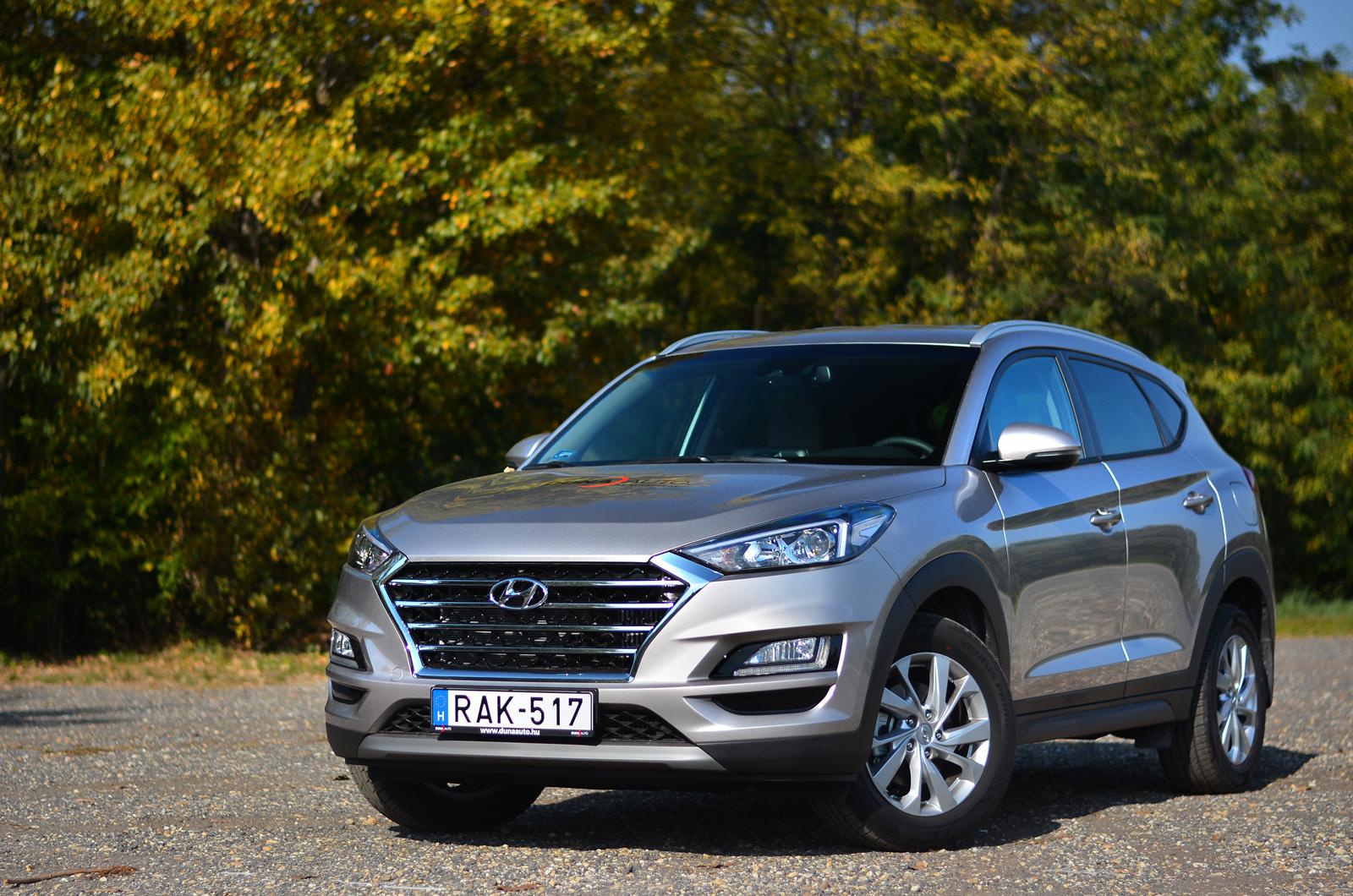 Hyundai Tucson 1.6 T-GDI teszt – komfortos koreai